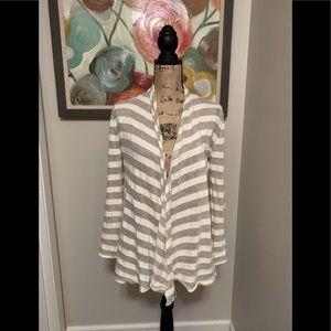 3/$25 Banana Republic striped cardigan